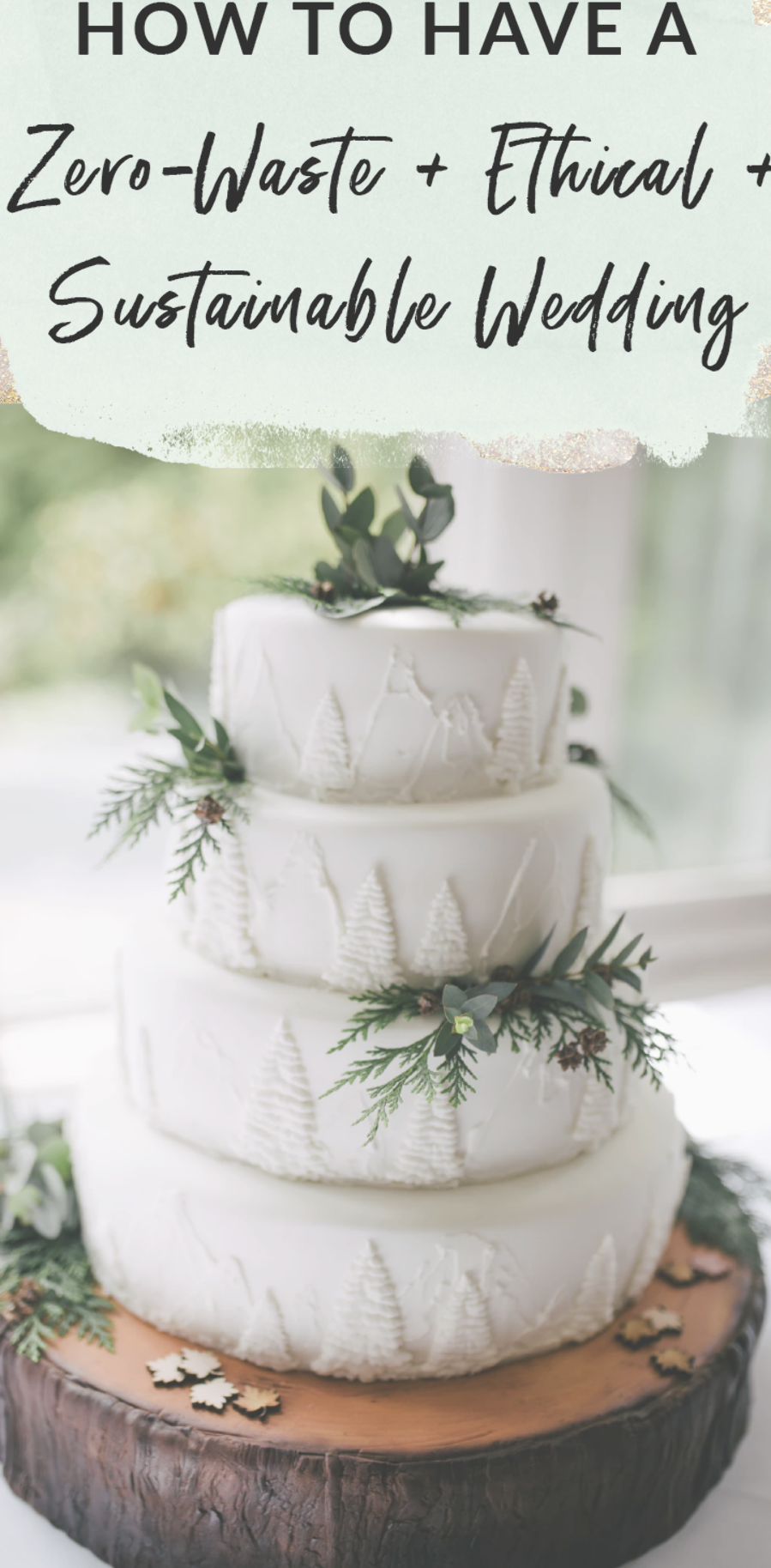 How to have a zero waste, ethical, and sustainable wedding
