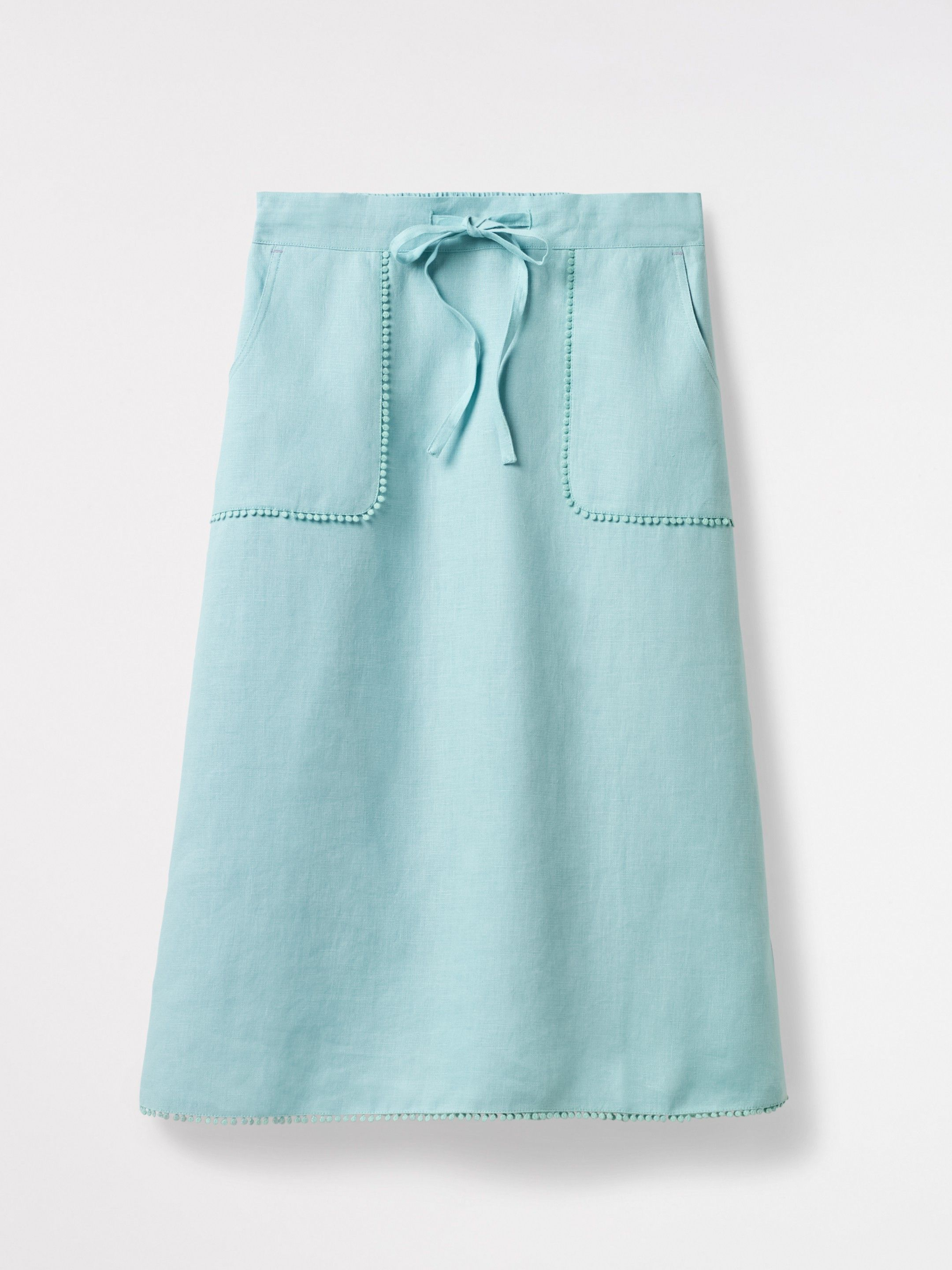 a219b9510cca Portia Plain Linen Skirt | Clothes I Like | Linen skirt, Skirts ...