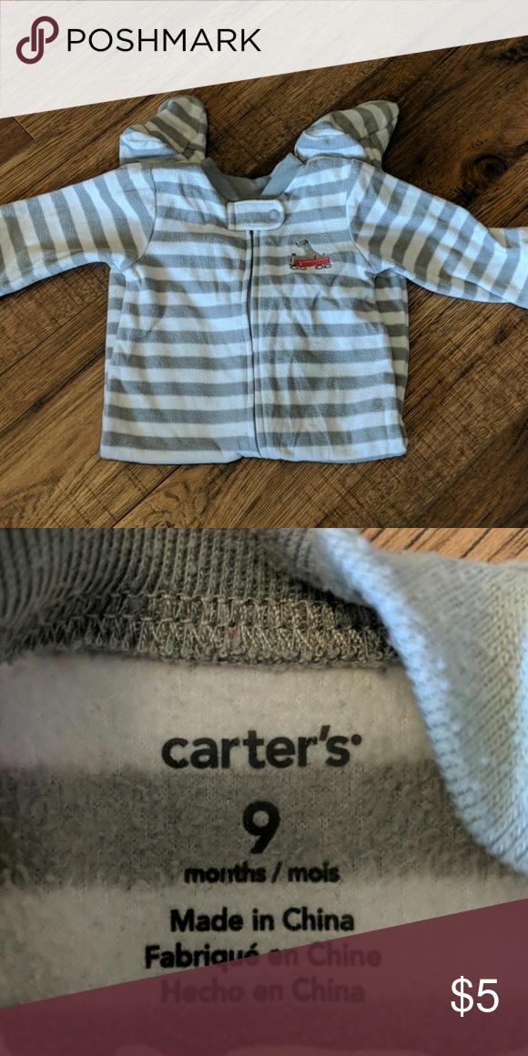 6ea4dbeb057b Carter s sleeper Carter s fleece zip up sleeper. Size 9 months ...