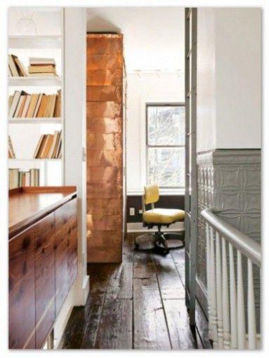 Copper wall - 'Modern Metallic 'ahh'', patternsnap blog