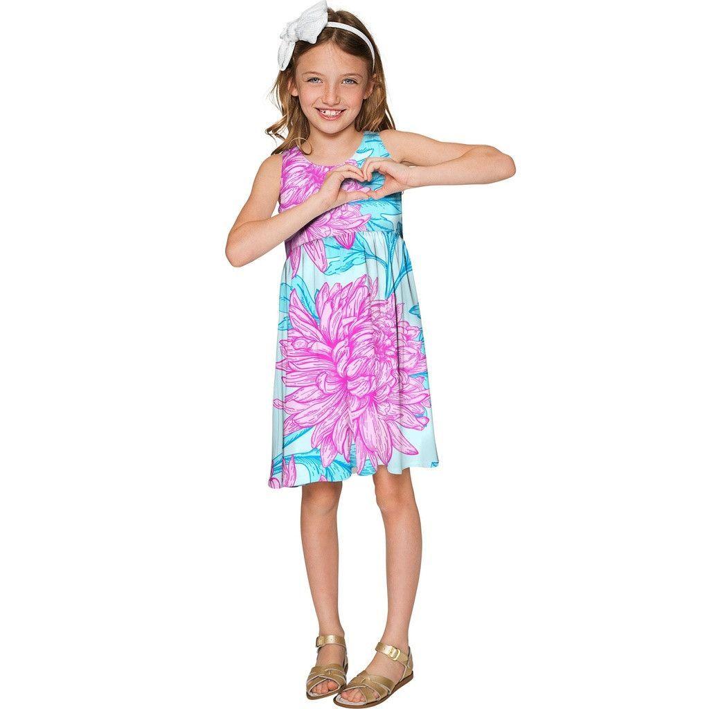 237c5ec8711c Floral Bliss Sanibel Cute Empire Waist Summer Dress - Girls ...
