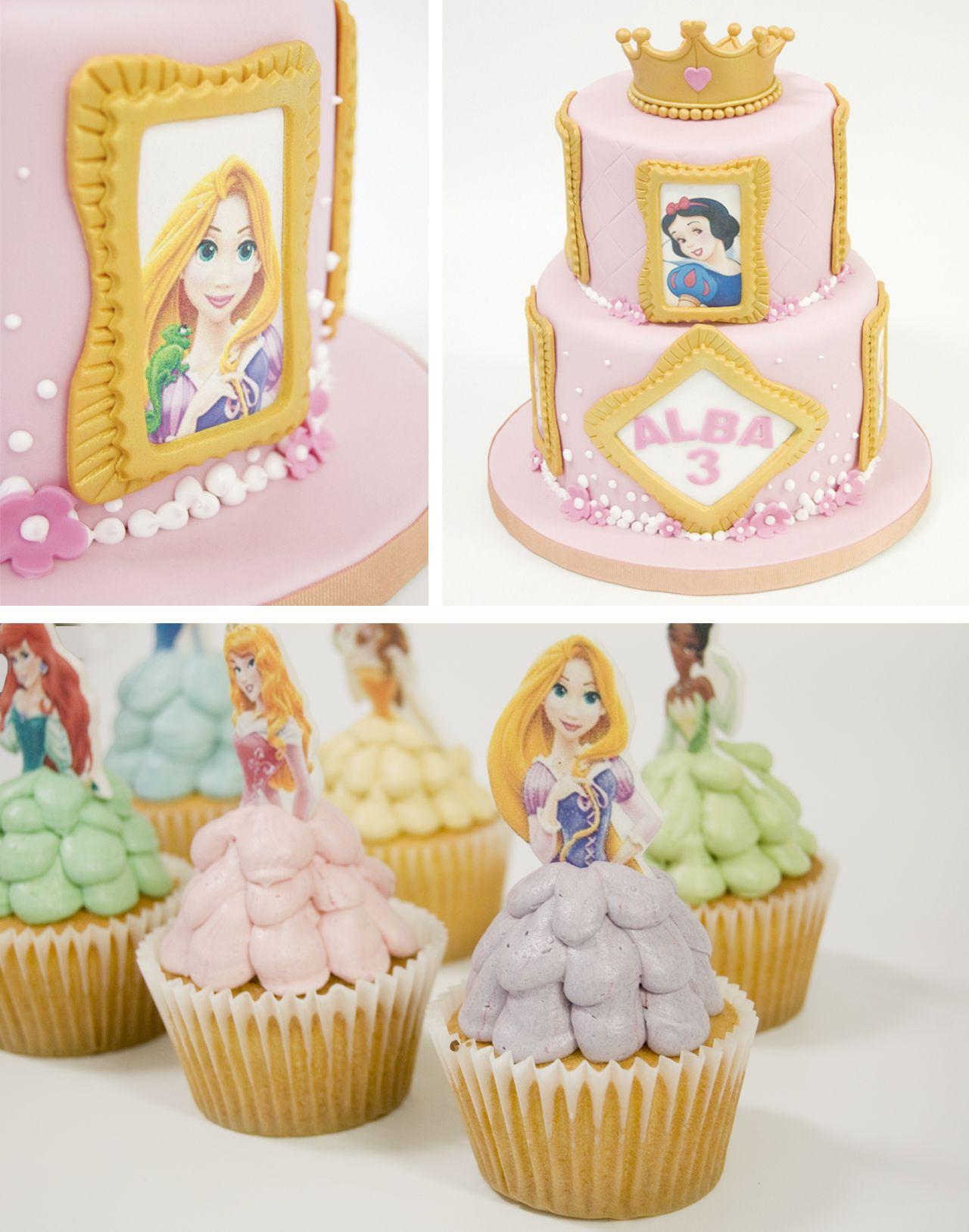 Pastel princesas Princess cake