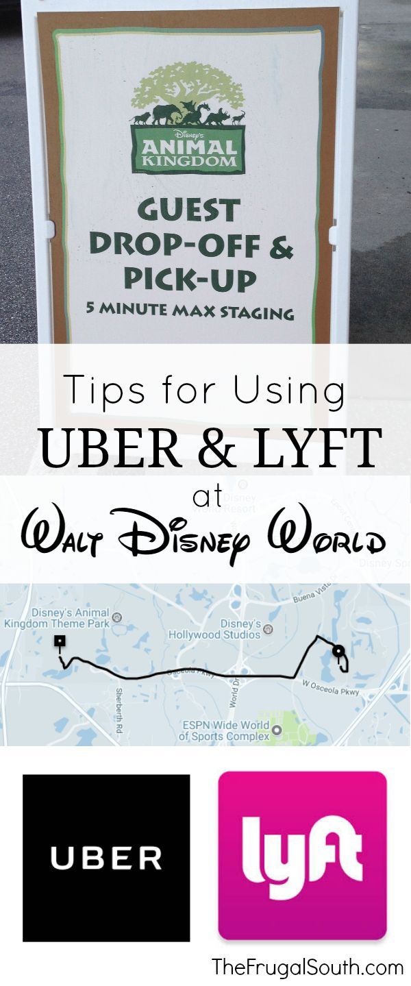 Tips For Using Uber & Lyft At Disney World