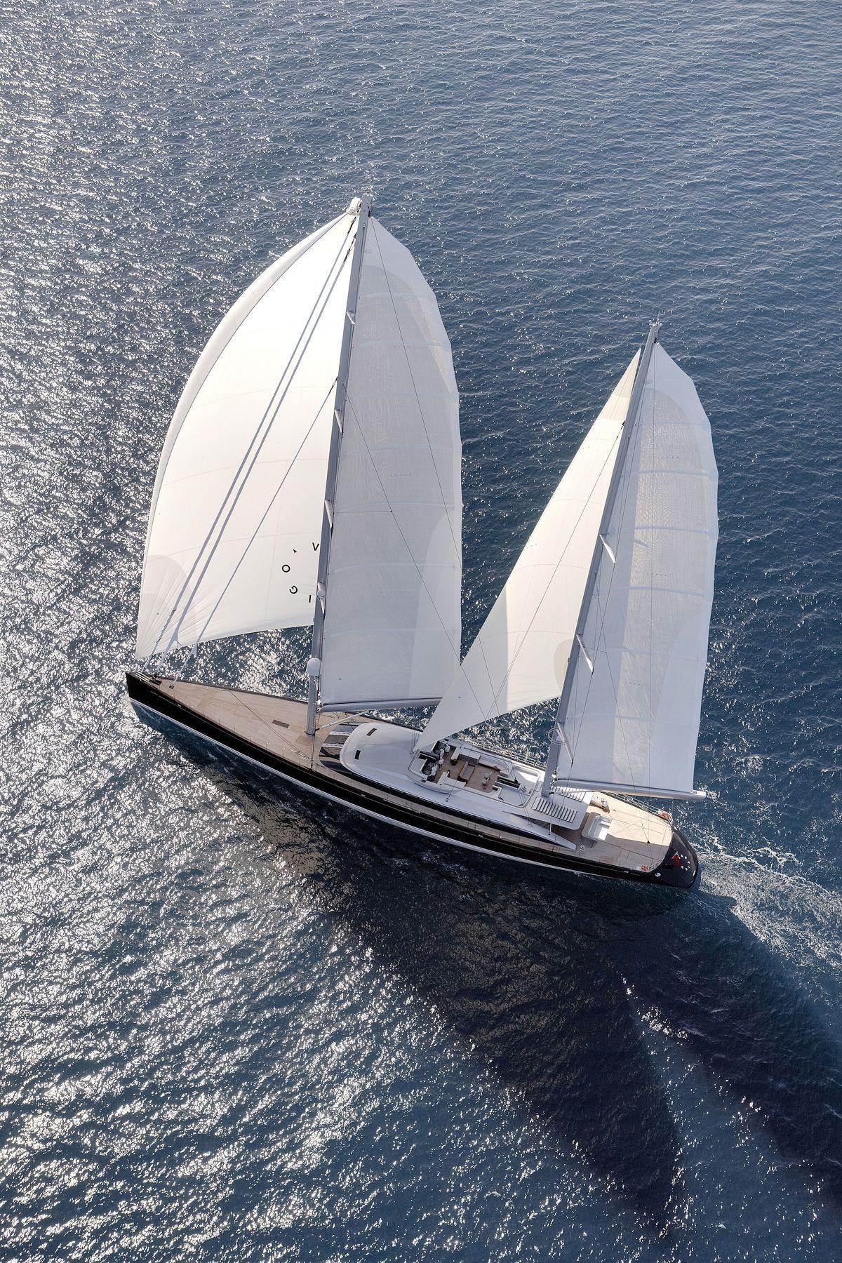 Vertigo Yacht Crowned Sailing Yacht Of The Year Boat Sailing Yacht Sailing