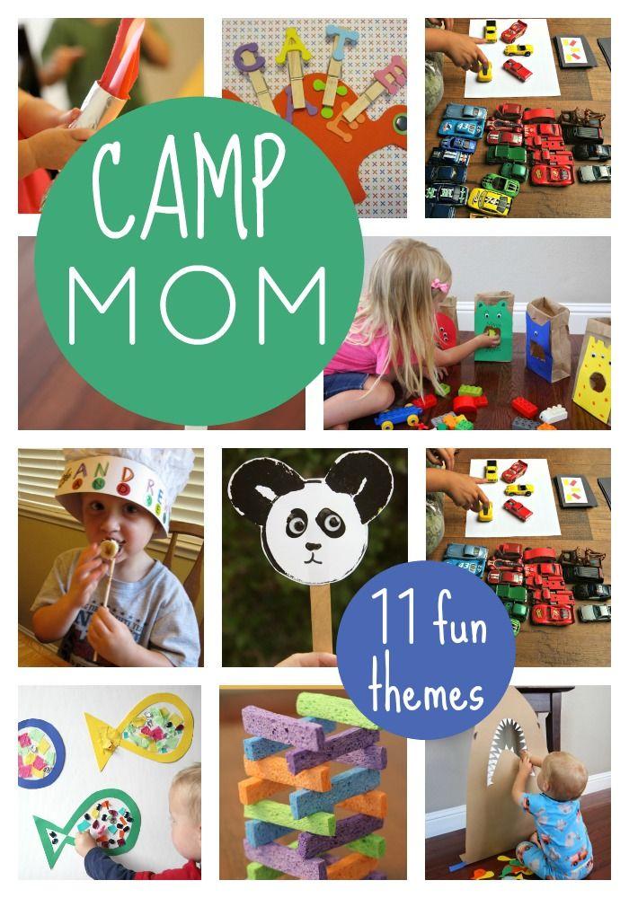 Camp Mom Host Summer Camp At Home Toddler Approved Summer