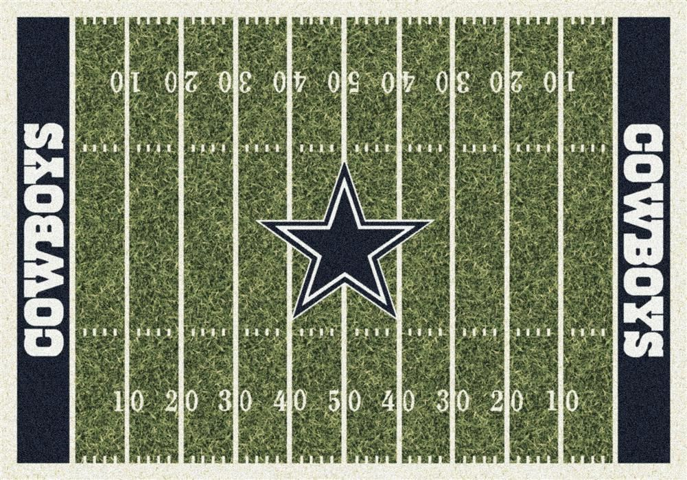 Dallas Cowboys Football Field Rug This Milliken Cowboys Rug Features A Detailed Football Field Layout Complete Wi Area Rugs Novelty Rugs Nfl Carolina Panthers