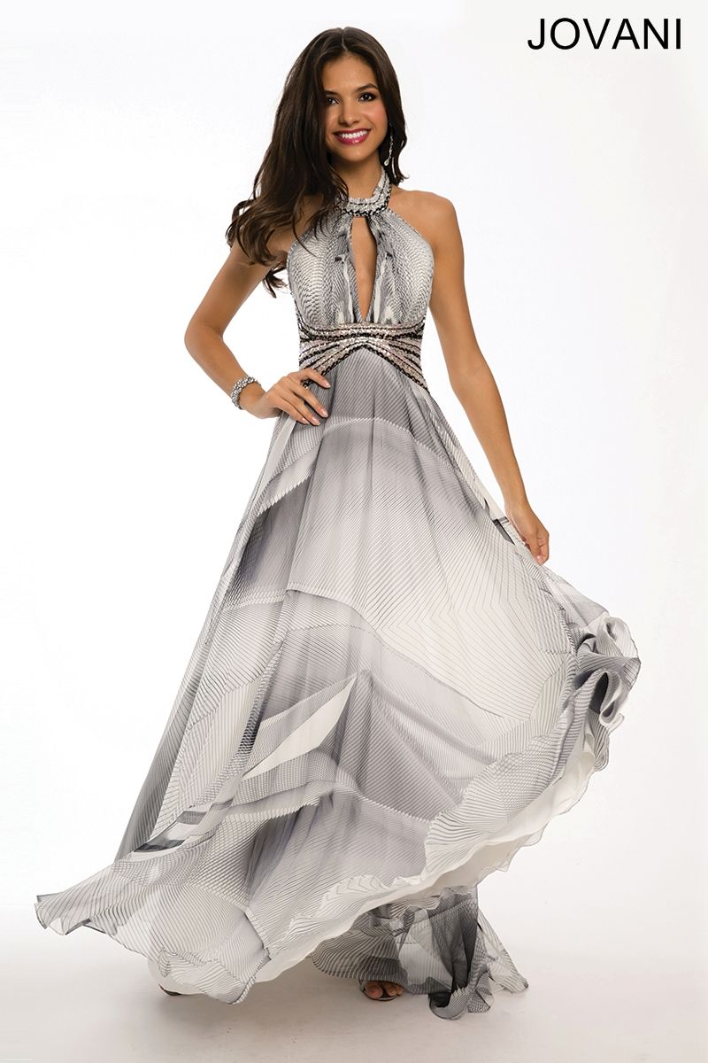 Multicolor halter keyhole gown prom dresses pinterest