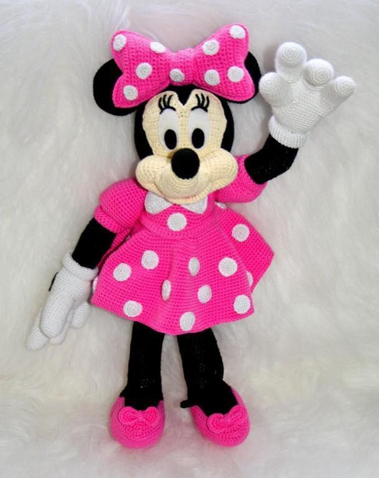 Disney Minnie mouse amigurumi crochet