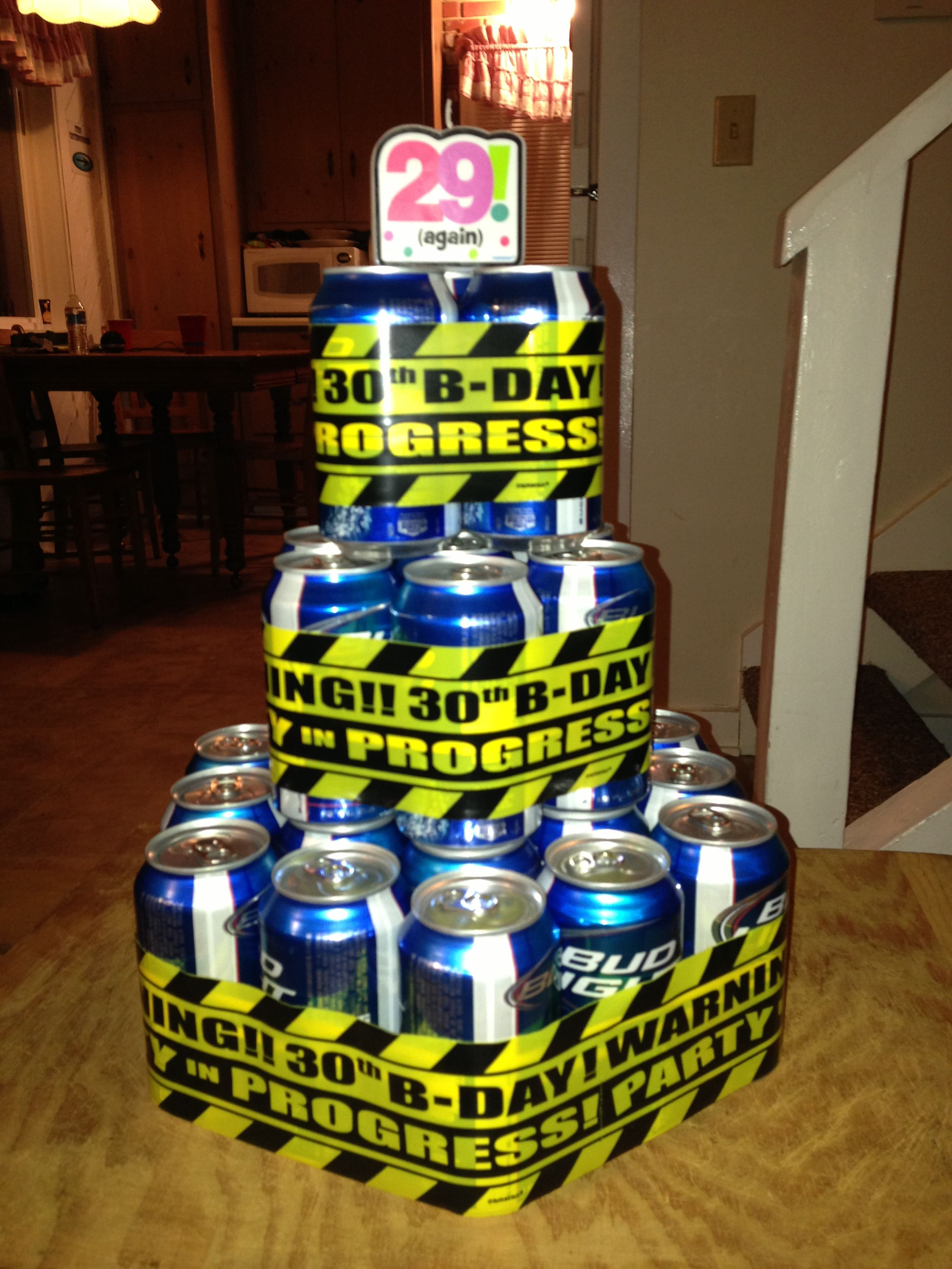 30th Birthday Cake For A Beer Drinker Love It Steves 30th Ideas