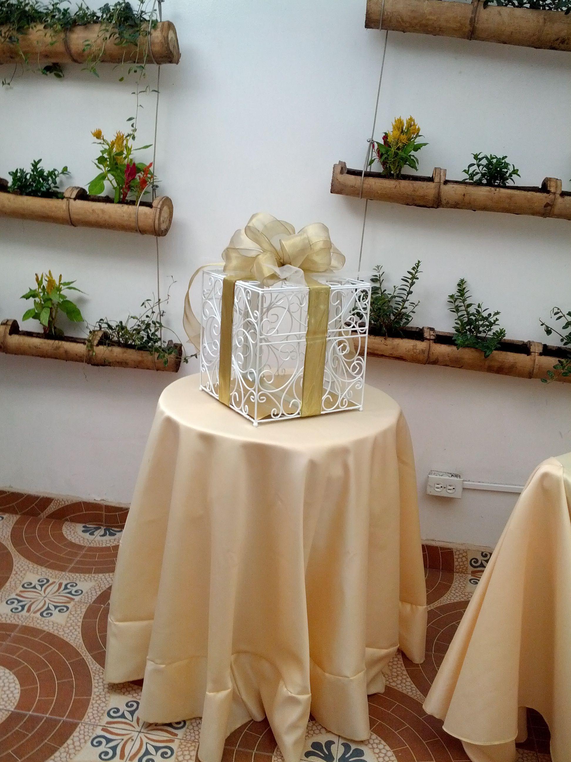Ideas para decorar una caja de sobres de boda - Cajas para decorar ...