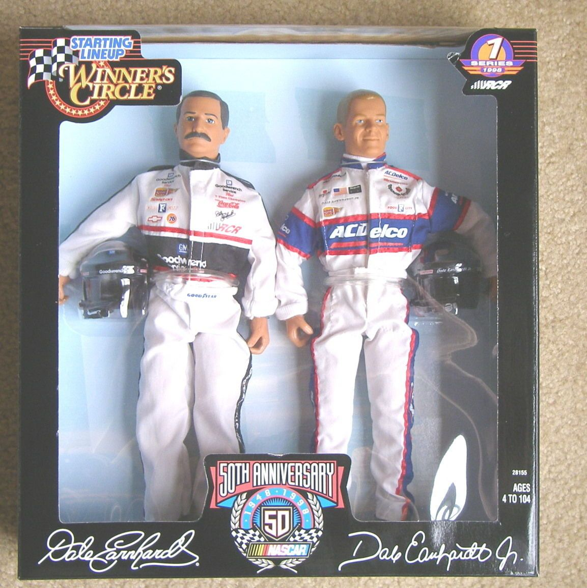 Starting Lineup, Winner's Circle Dale Earnhardt and Dale
