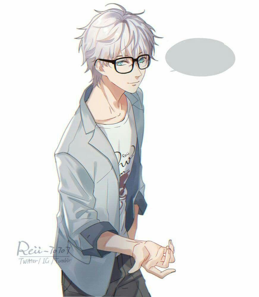 Glowing Anime Glasses Meme