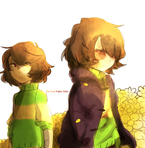 Ask Frisk & Chara the Friendly (?) Ghost