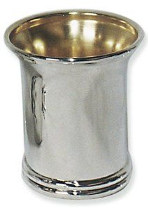 Sterling Silver Kiddush Cup with Big Lip and Ring Base by World of Judaica. $817.00. Dimensions: 8cm. Material: Sterling silver 925. Your order includes 1 item(s).. You will be pleasantly surprised! The vast majority of our shipments arrive within 10-14 business days from time of shipment, far in advance of Amazon's default calculation of shipping times for items shipped from Israel.. This Kiddush cup is crafted in sterling silver by silver smiths in Jerusalem with a basic de...