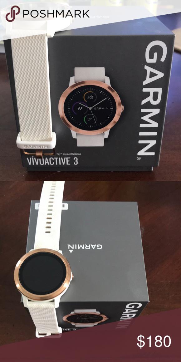 Garmin Vivoactive 3 Sport Watch Rose Gold Watches Women Garmin Sports Watches Women