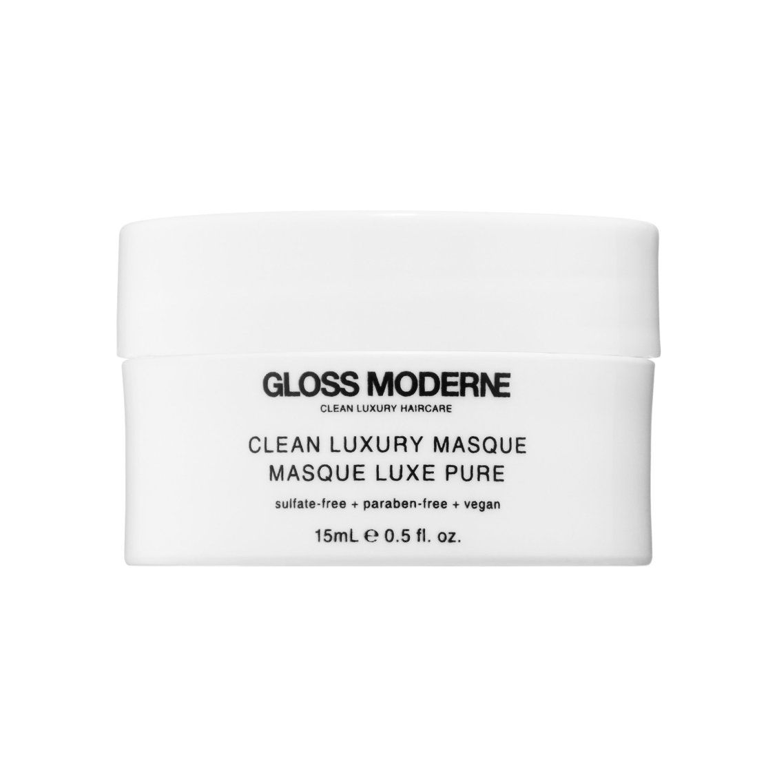 """GLOSS MODERNE Clean Luxury Masque """"This mask totally"""