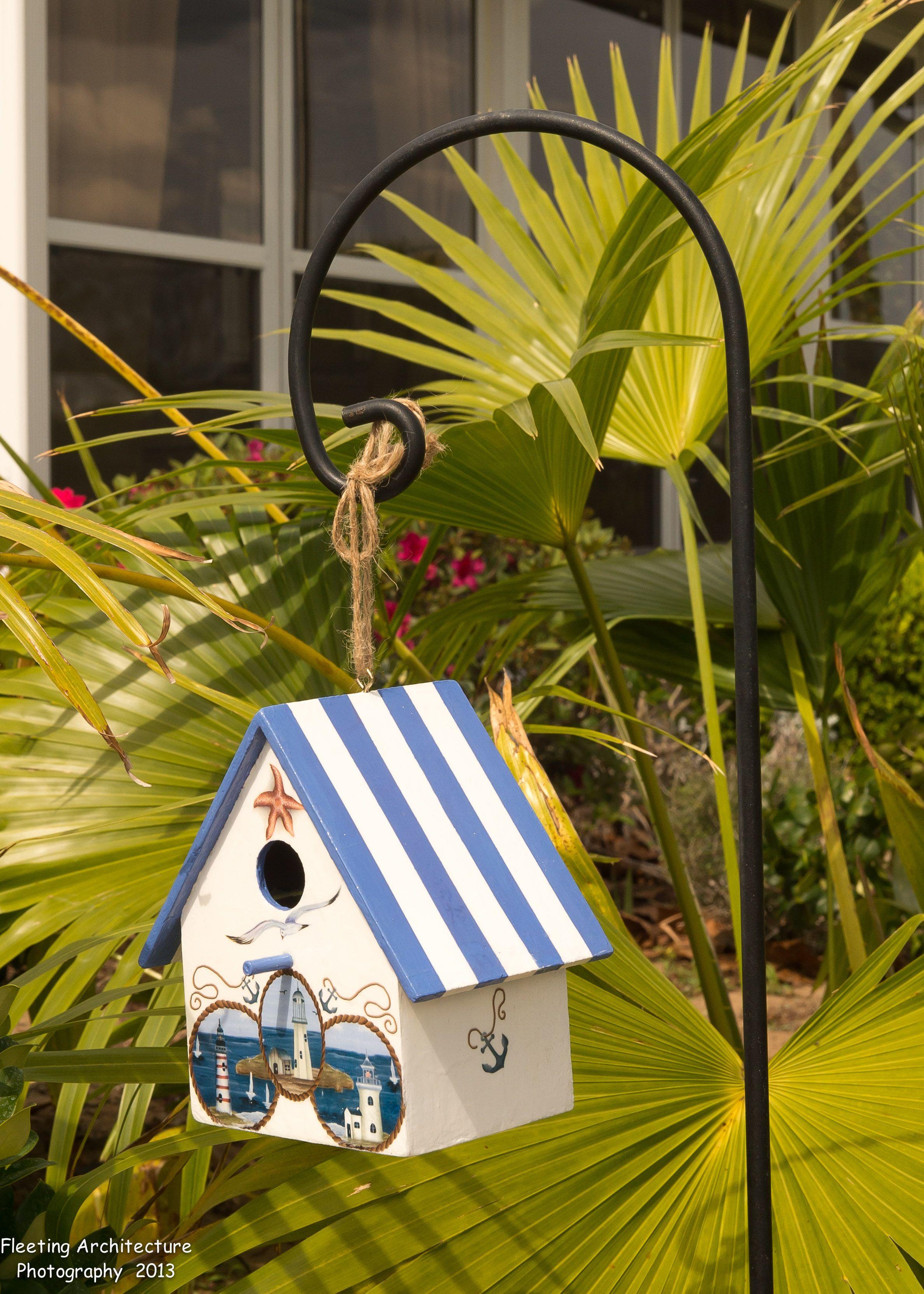 Florida dreaming and beach themed birdhouses bird houses