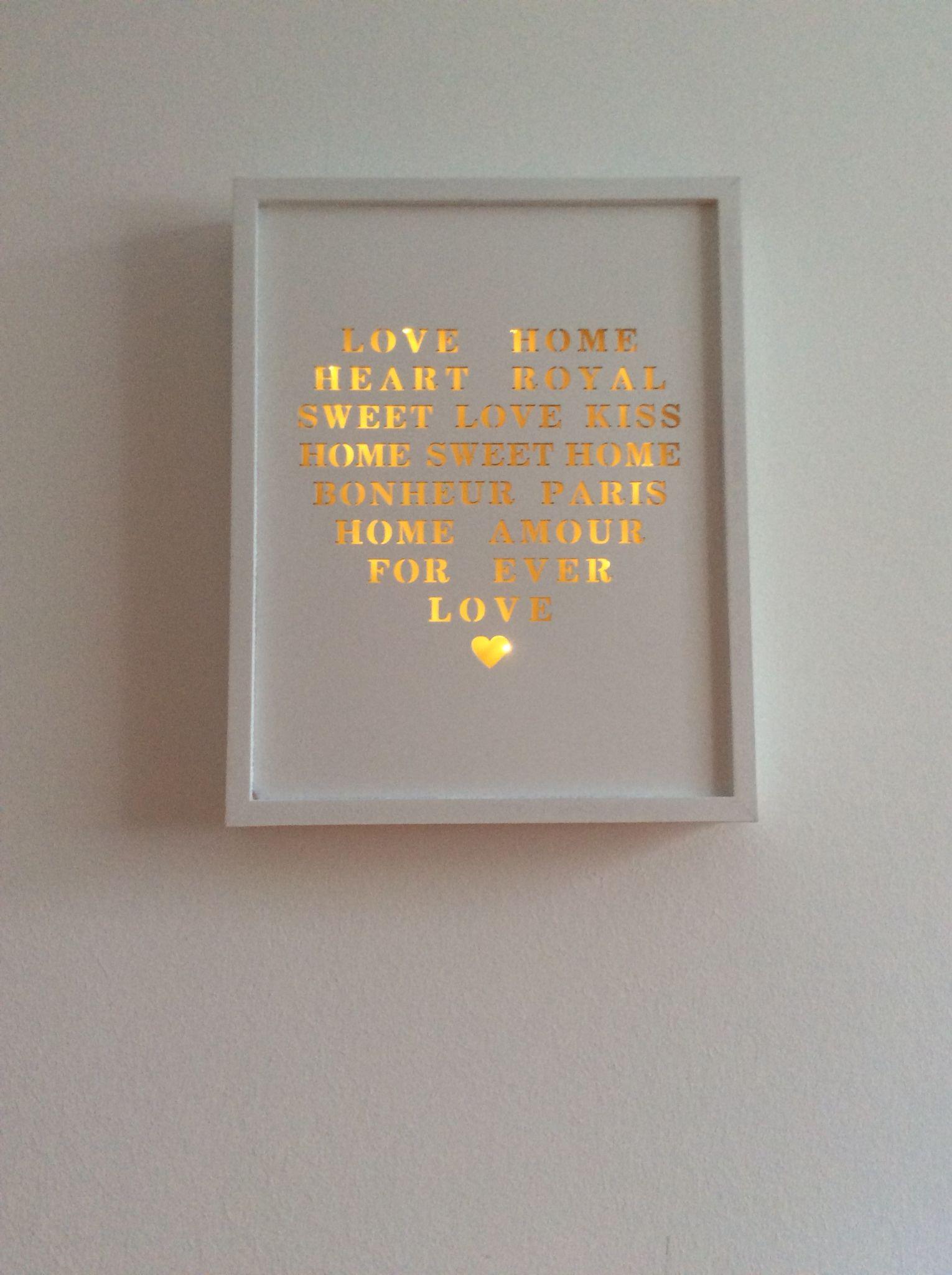 Rahmen beleuchtet | Light | Pinterest | Silhouettes, Shadow box and Box