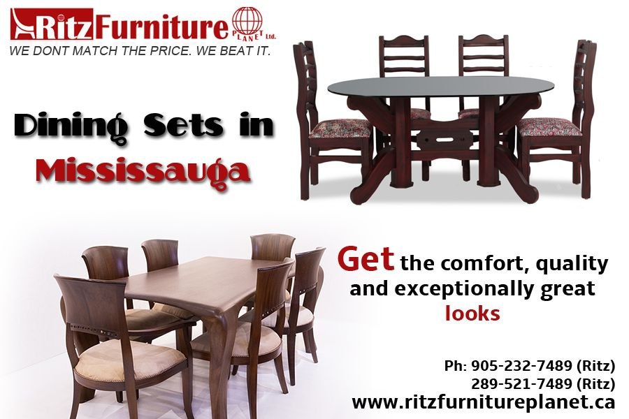 Hello Guys Buy Now Best Dining Sets In Mississauga We Have All Types Furniture Chair Computer Table Kids Bed Sofa If You Want To Purchase Then
