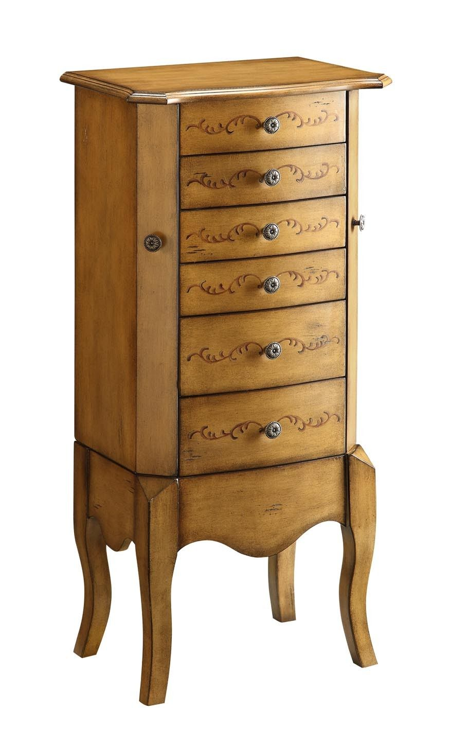 Urban Accent Jewelry Armoire 99931 Urban Accent Jewelry Armoire