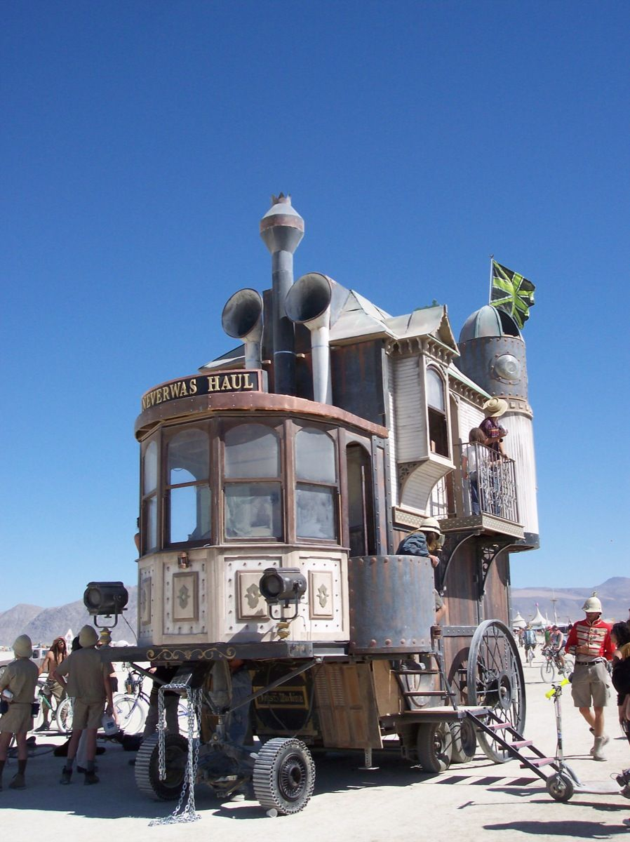 The Neverwas Haul Weird cars, Steampunk house, Unusual