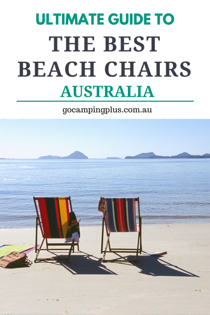 A guide to the best beach chairs Australia has to offer