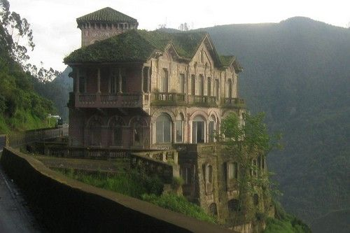 El Hotel del Salto, Colombia http://www.wonderslist.com/10-truly-beautiful-abandoned-places/