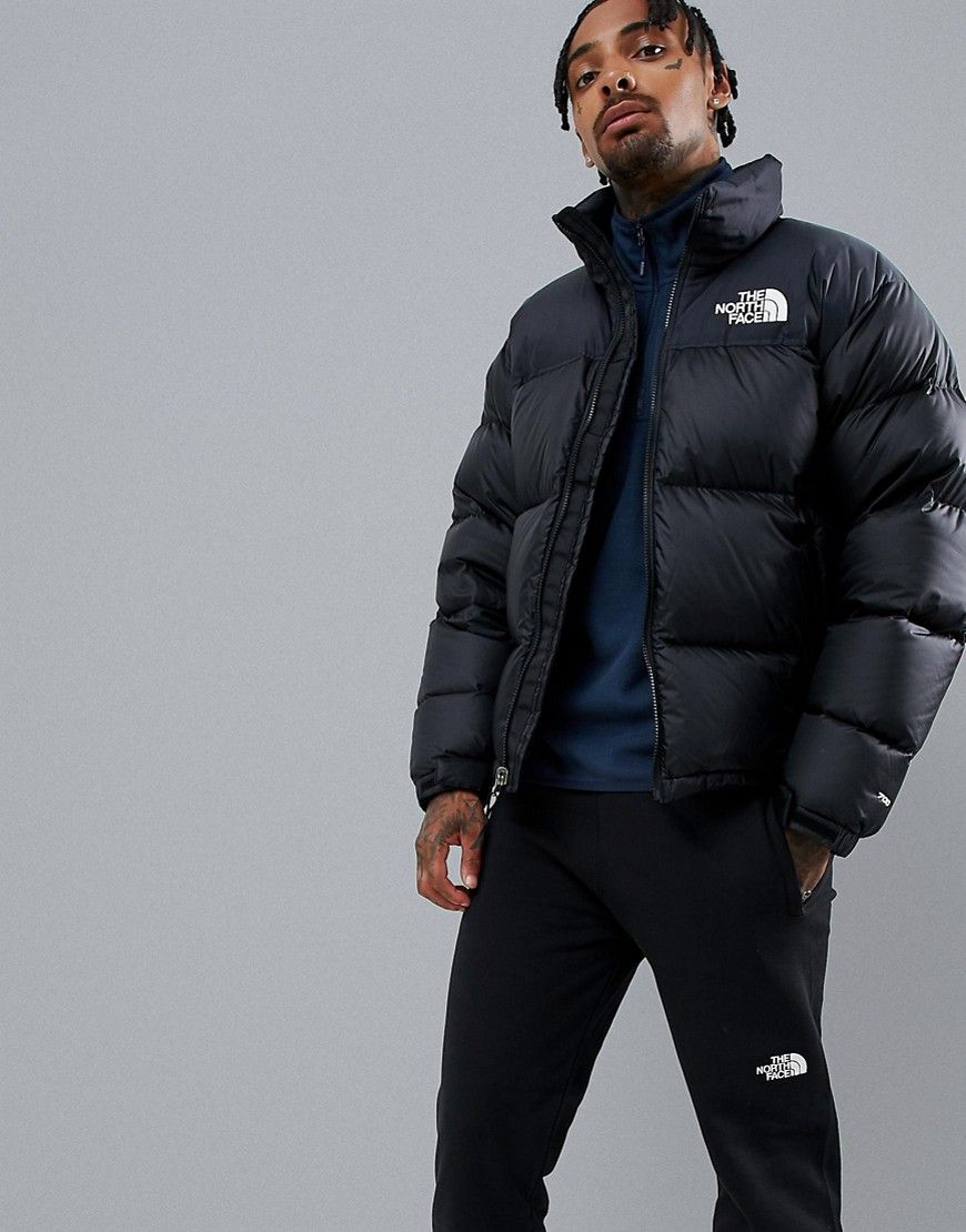 The North Face 1996 Retro Nuptse Jacket In Black Black Modesens North Face Puffer Jacket North Face Coat North Face Nuptse