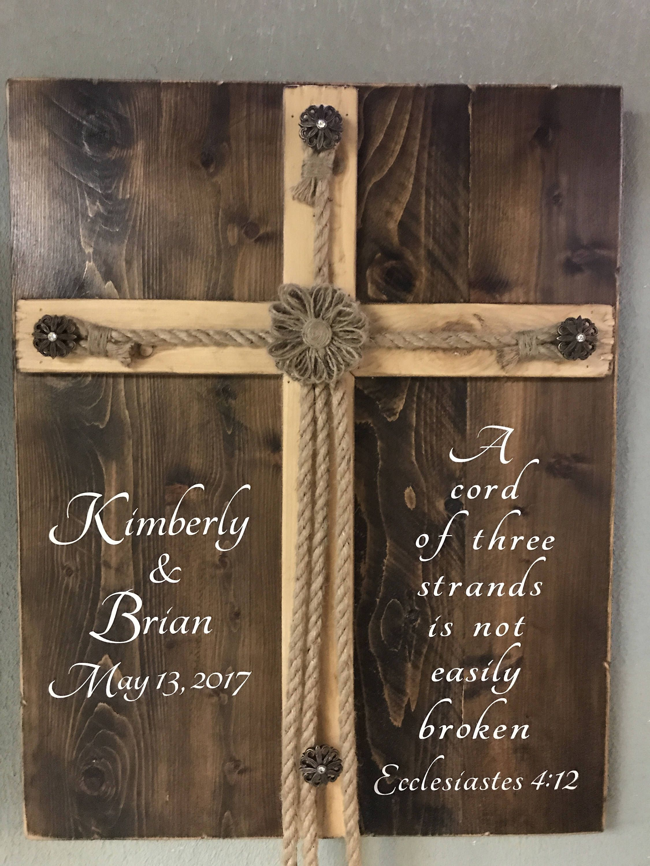 A personal favorite from my shop httpscomlisting desktop diy wedding unity cross for candle laptop hd