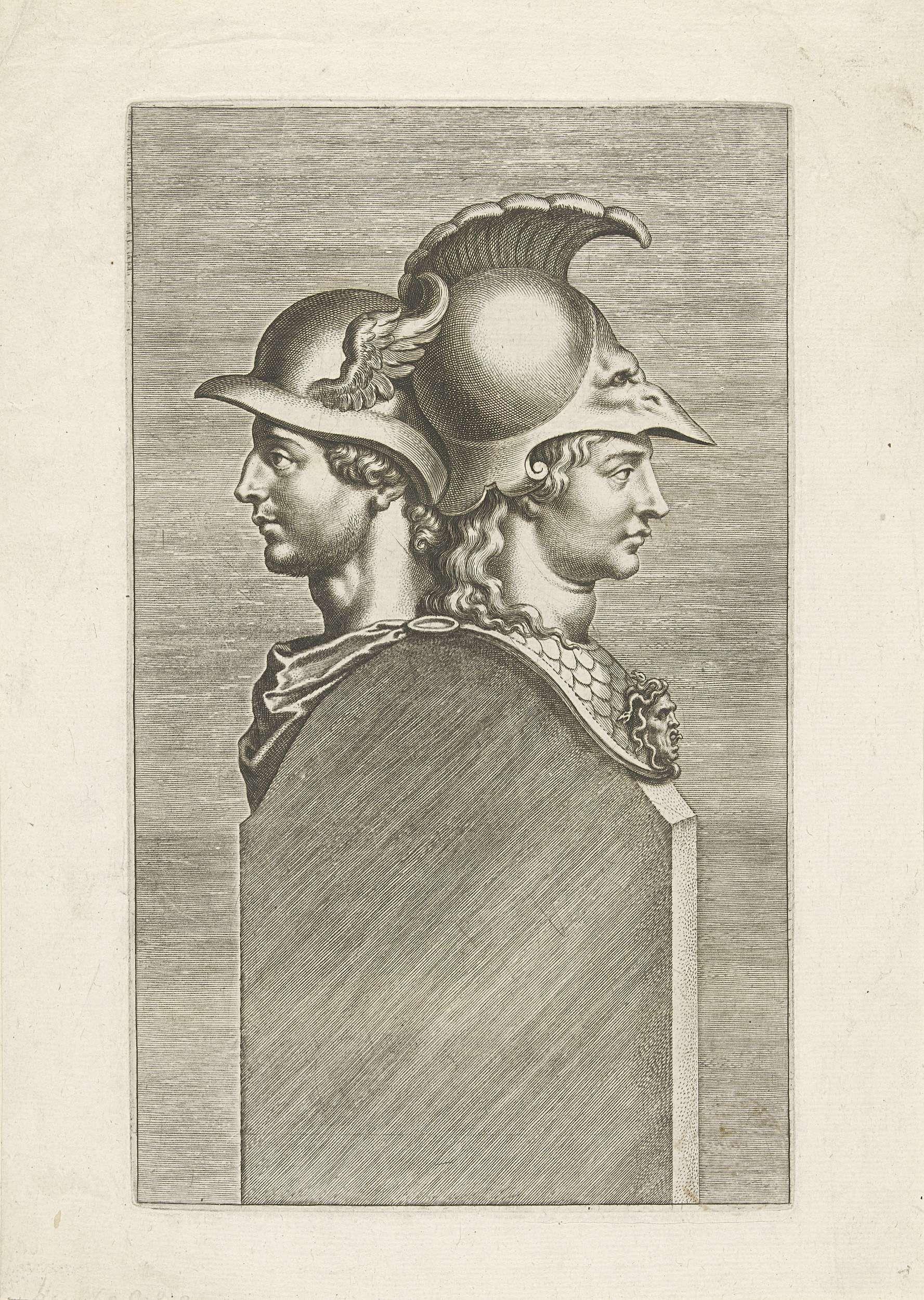Peter Paul Rubens | Herme met bustes van Mercurius en Minerva, Peter Paul Rubens, 1610 - 1650 |