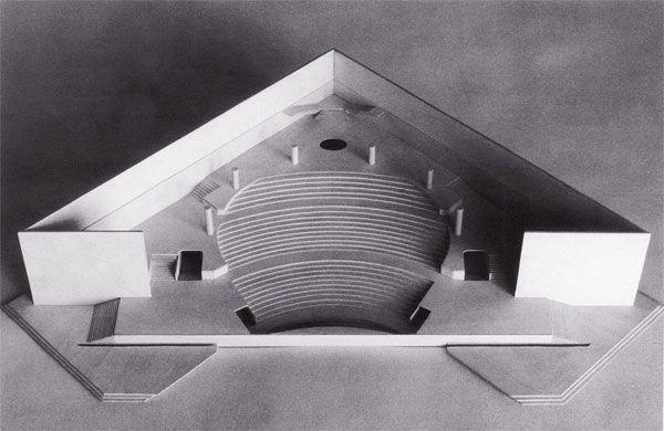 Vicenza Theatre Italy Ignazio Gardella 1979 Arquitectura