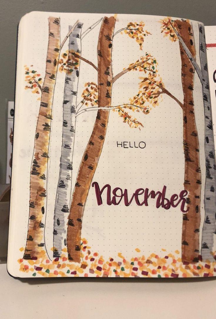 Kerrie Legend - Kerrie Legend #novemberbulletjournalcover