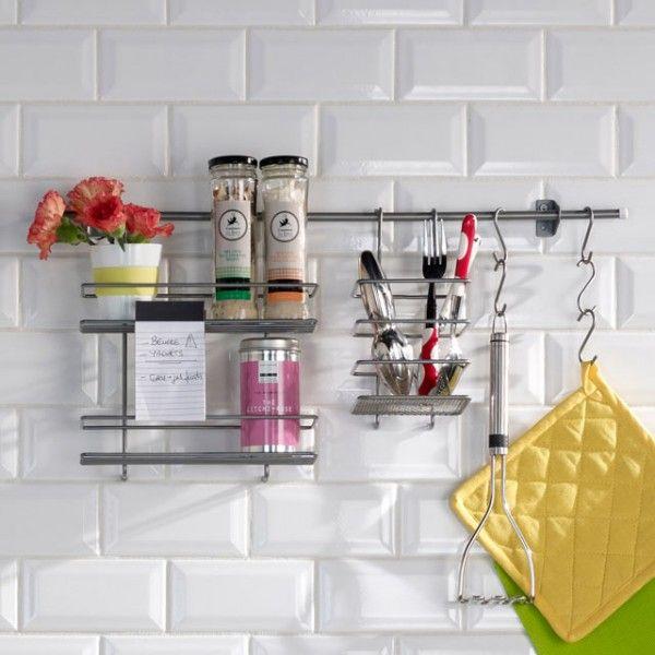 66 trucs astuces qui fonctionnent pour amnager une petite cuisine - Comment Poser Une Credence De Cuisine