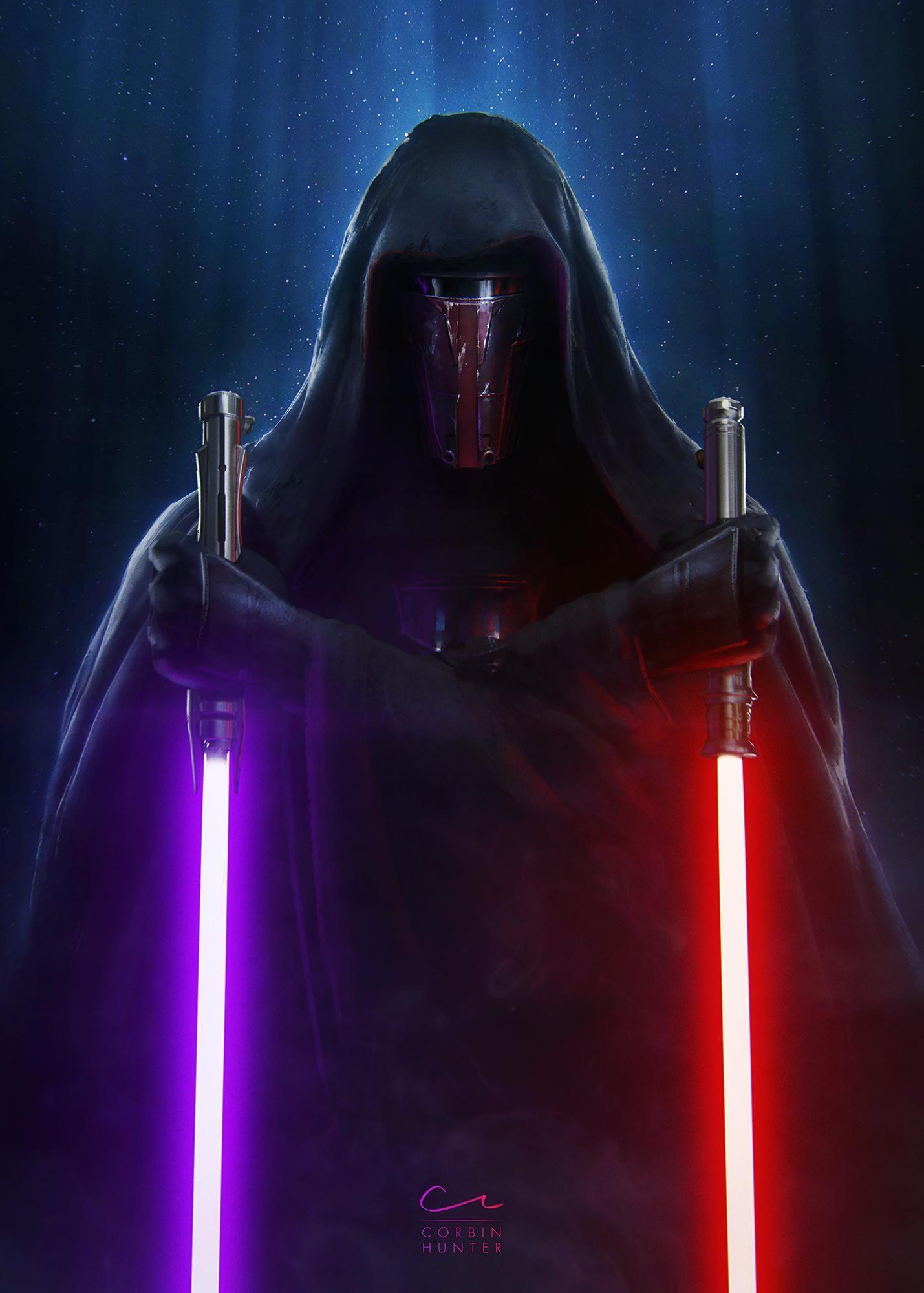Kotor Phone Wallpapers Album On Imgur Star Wars The Old Star Wars Sith Star Wars Darth Revan