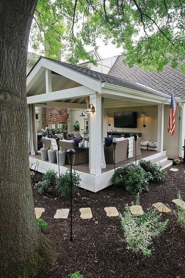 59 screened in porch ideas with stunning design concept 48  solnetsy com is part of Backyard porch -  59 screened in porch ideas with stunning design concept 48 Related