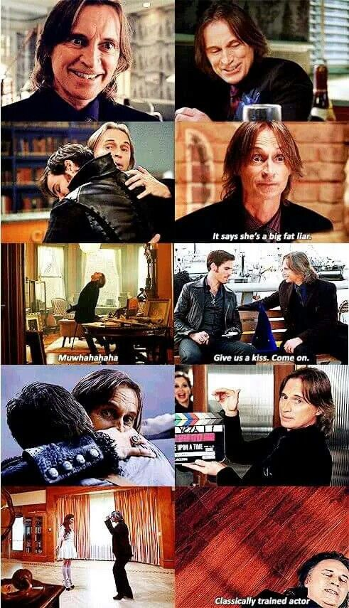 Robert Carlyle is comedy gold in the blooper reel from seasons one to four