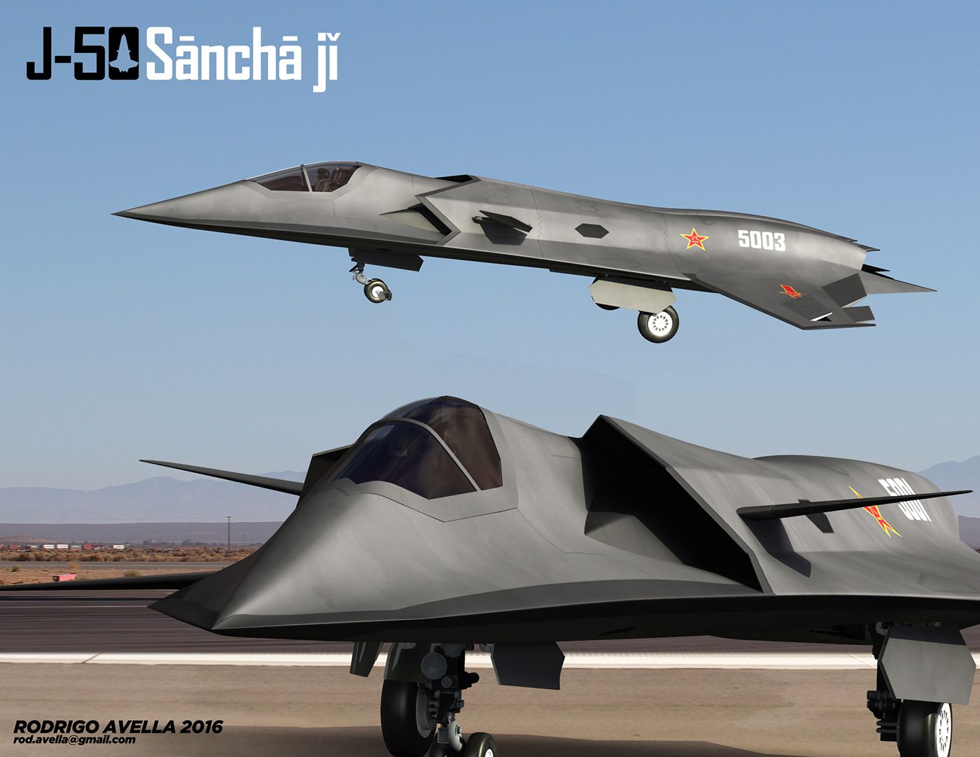 Chinese sixth generation fighter concept  | Aircraft | Stealth