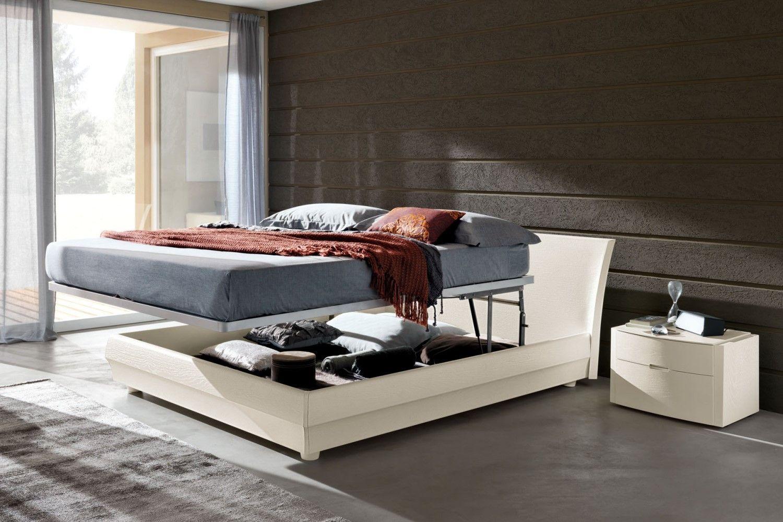 Cassetti Contenitori Sotto Letto : Camera da letto in laccato a poro aperto letto contenitore