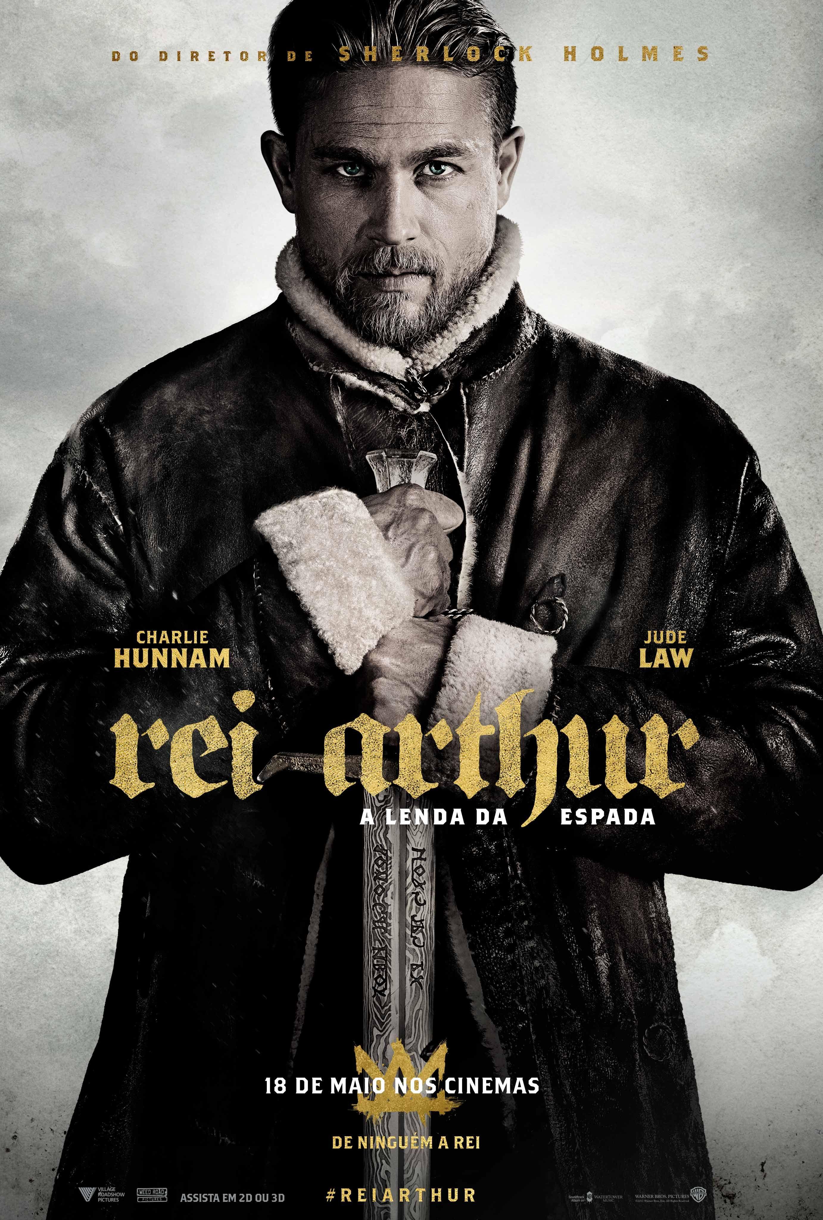 Novo Poster De Rei Arthur A Lenda Da Espada Com Imagens Rei