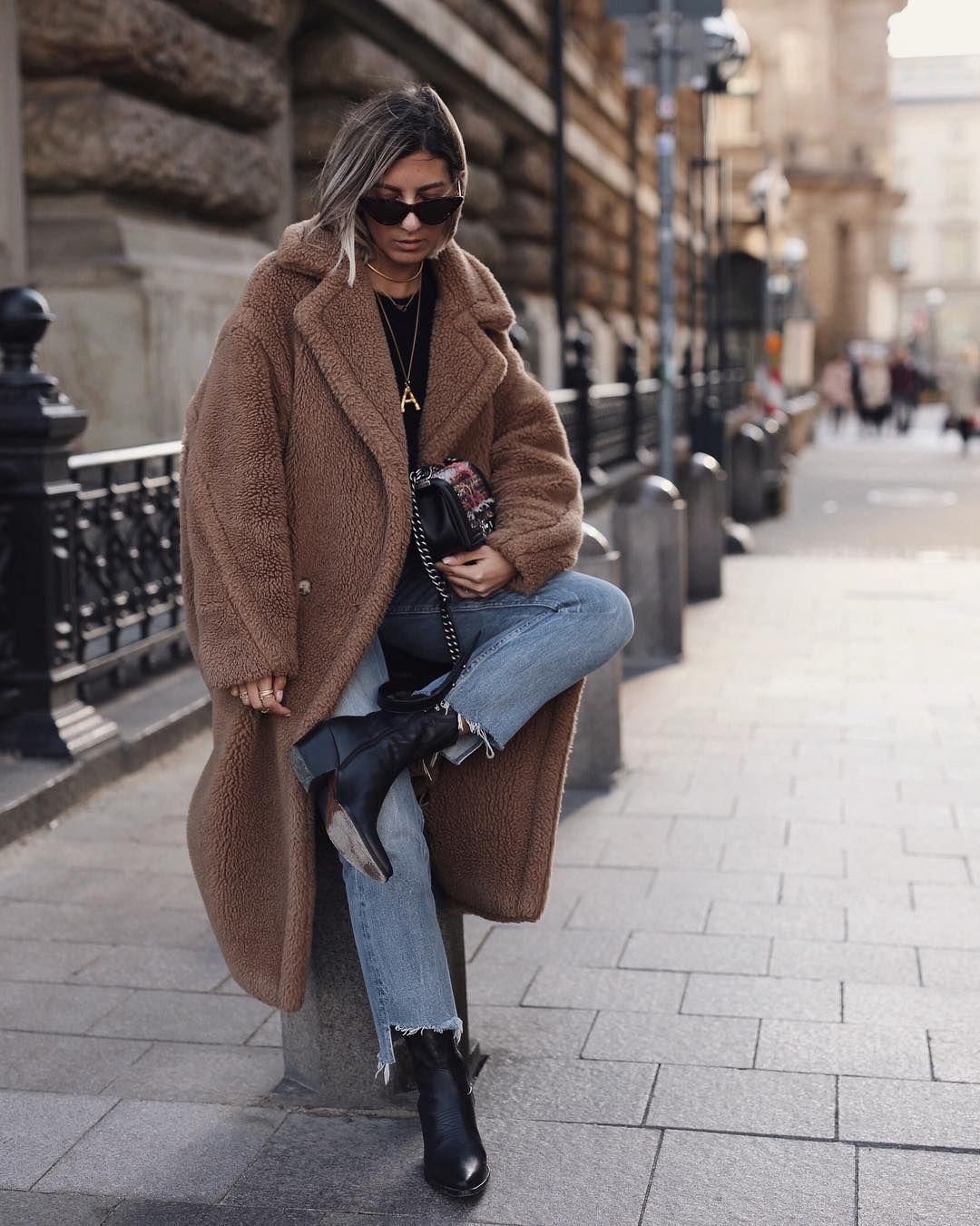 Fashion PelucheStreet In Fashion 2019 Manteau TclFKJ1
