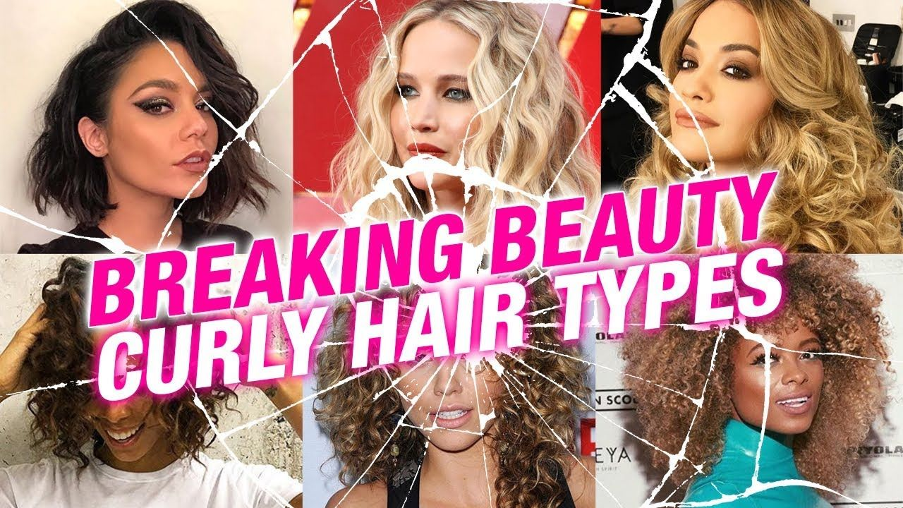Breaking Beauty Different Curl Types Hair Chart Superdrug
