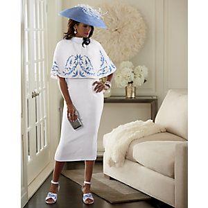 Meryl Cape Dress
