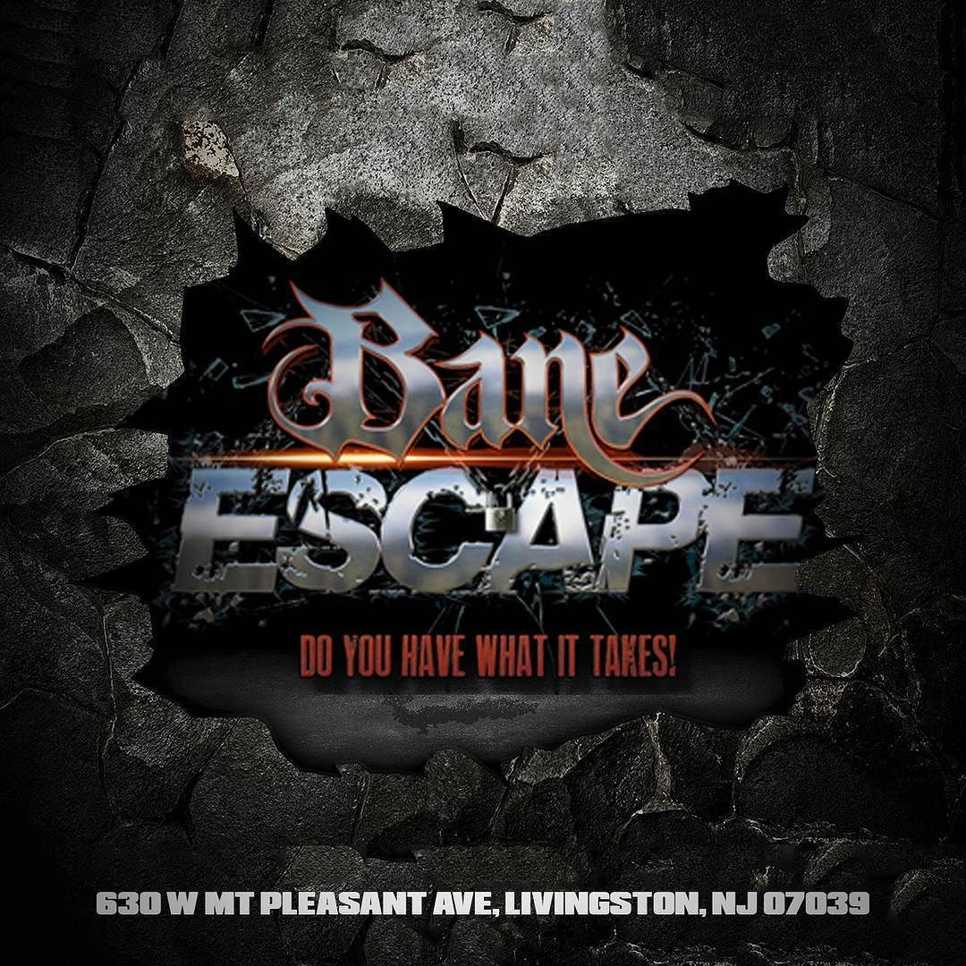 are you excited for halloween? get a little taste with bane escape