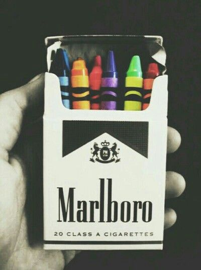 marlboro, cigarette, and colors image | pin it | Grunge