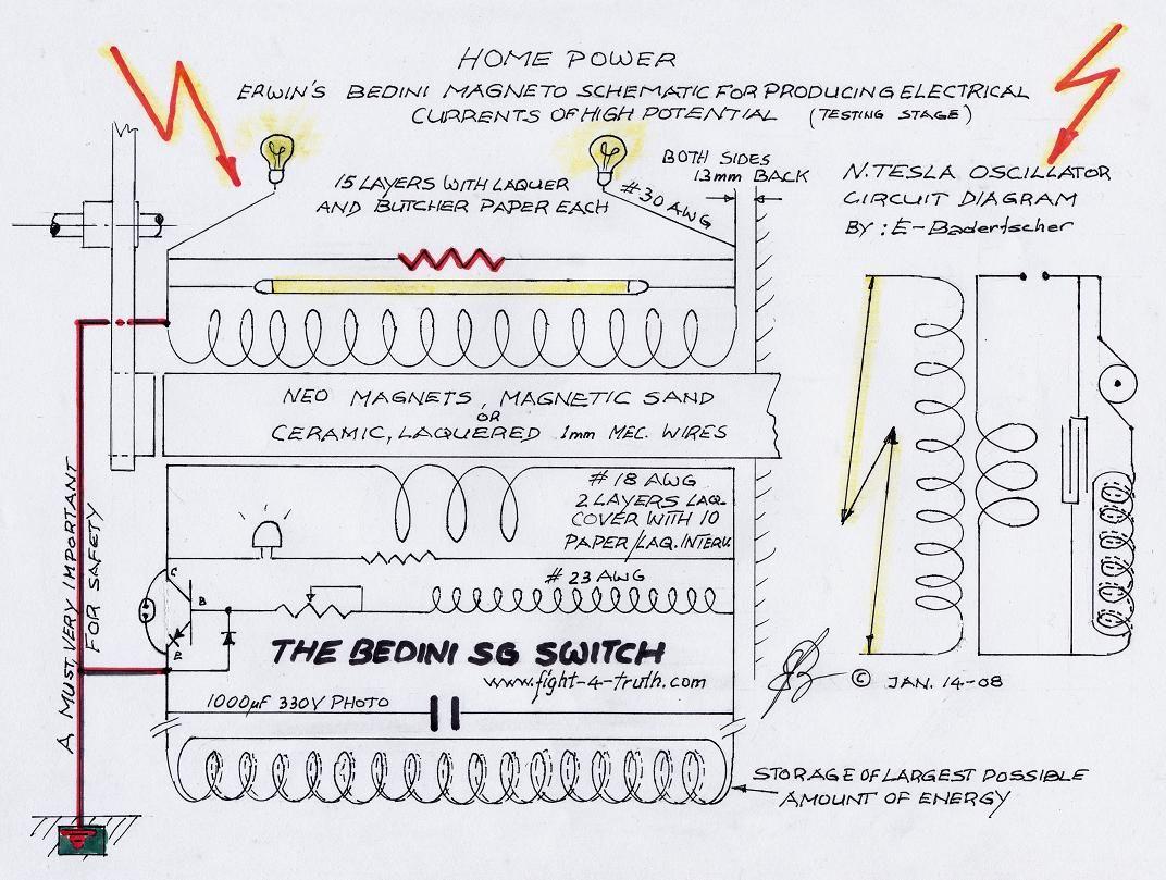 Circuito Motor Bedini : Bedini interrupter g brayani