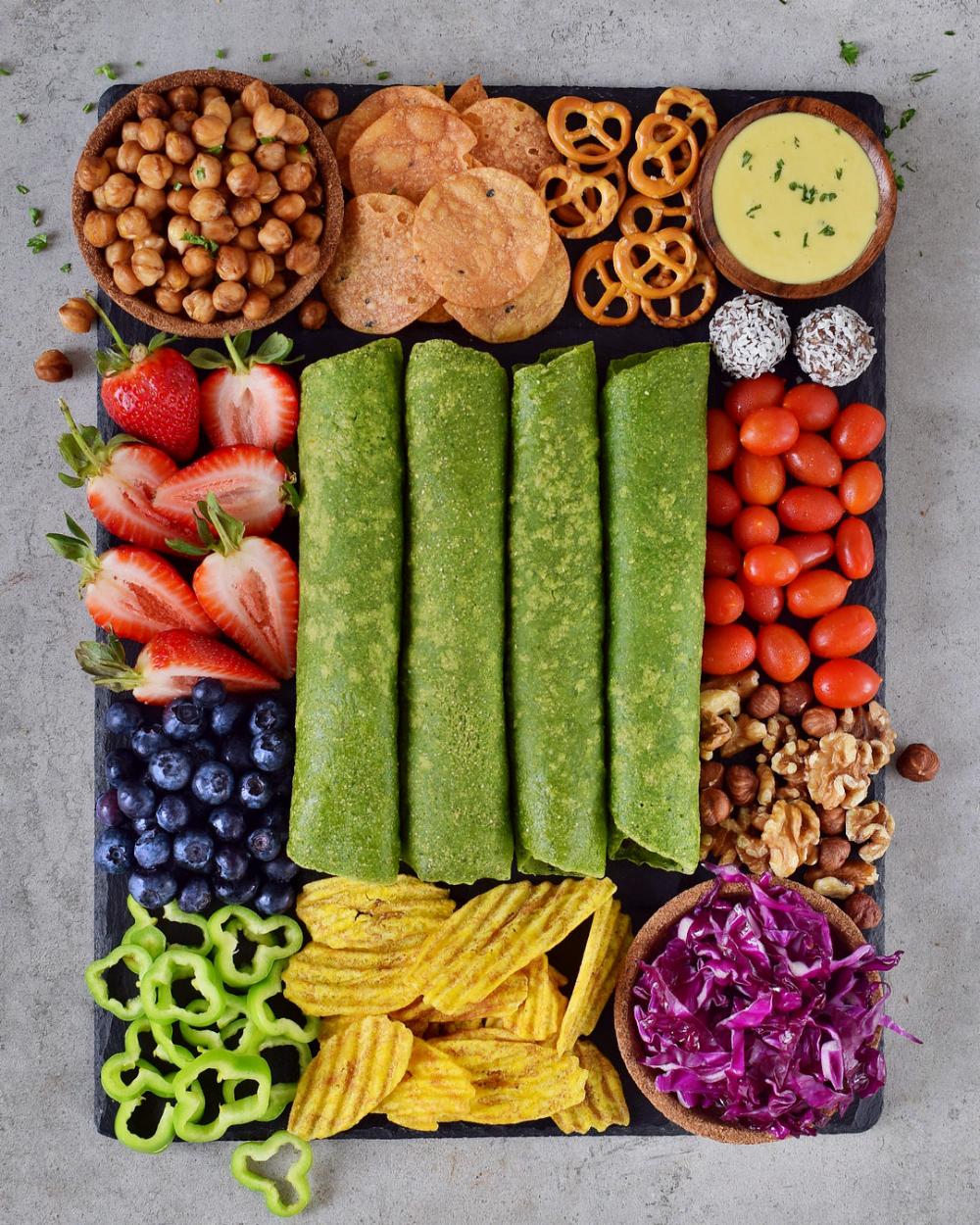 Spinach tortillas | gluten-free, healthy, vegan recipe ...