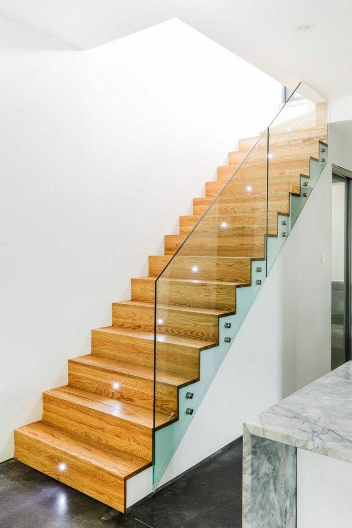Treppenhaus Modern schicke treppengeländer verschönern das moderne treppenhaus