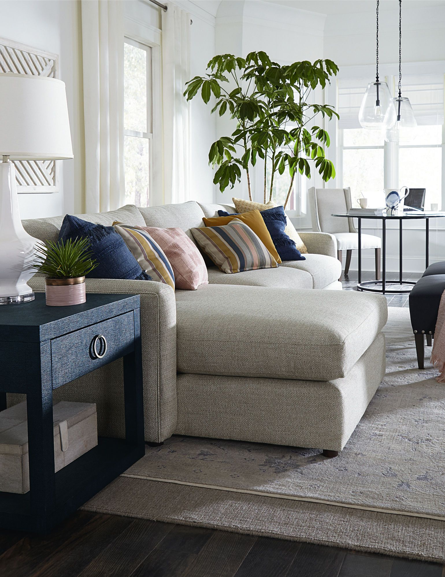 The Track Arms And Deep Seating Offer Stylish Comfort That Has A