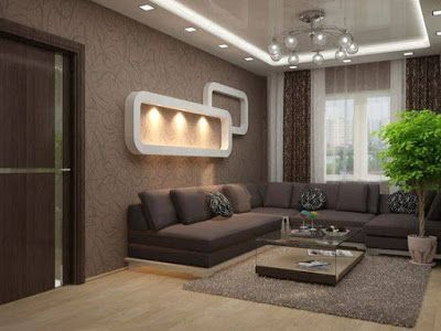 Living Room Furniture Design Wall Mount Tv Ideas For Modern Home Interior Trends Decoration 2019