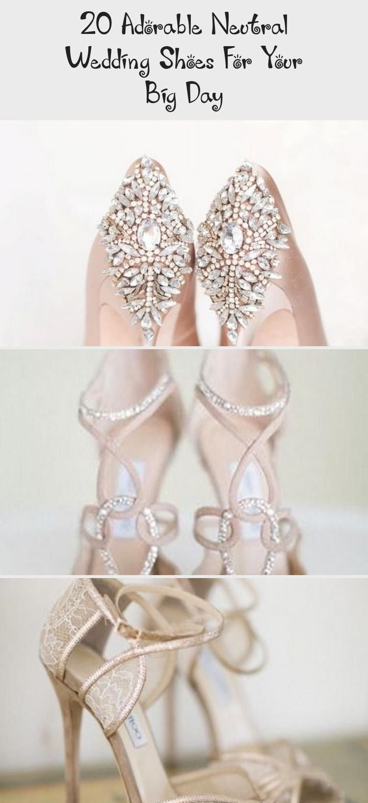 20 Adorable Neutral Wedding Shoes For Your Big Day - Ruth's Blog
